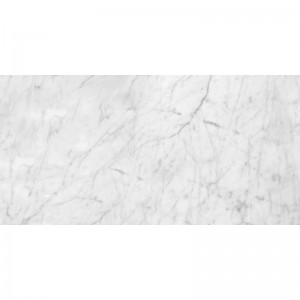 Italian White Carrara Marble Polished 12x24 Floor and Wall Tile