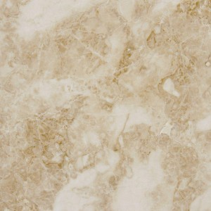 18 in. x 18 in. Crema Cappucino Polished Marble Floor & Wall Tile