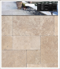 Tuscany Walnut Tumbled 6x6 Pavers Tile for Driveway and Pool Deck